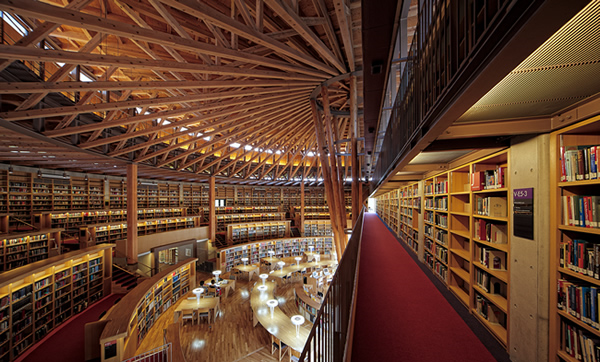 国際教養大学図書館|国際教養大学HPより