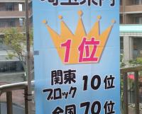 埼玉県1位 関東10位